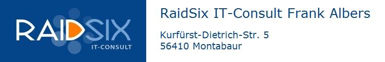 RaidSix IT-Consult Frank Albers
